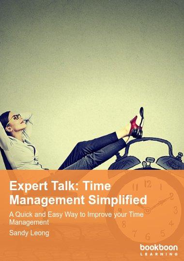 Expert Talk: Time Management Simplified
