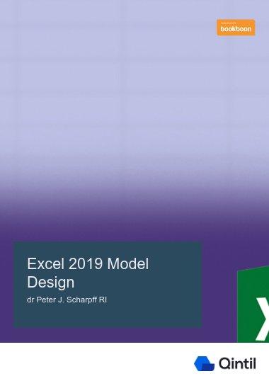 Excel 2019 Model Design
