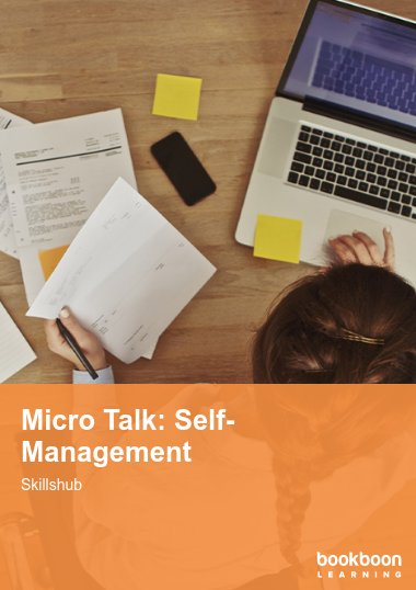 Micro Talk: Self-Management