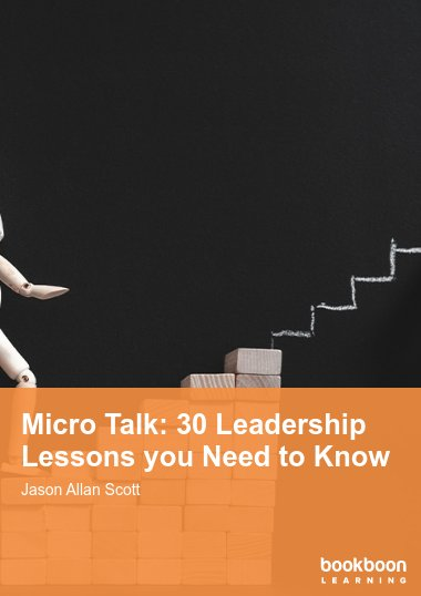 Micro Talk: 30 Leadership Lessons you Need to Know