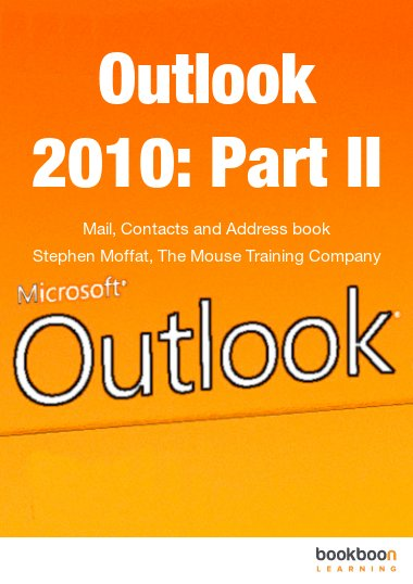 ms outlook 2010 tutorial pdf free