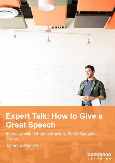 Expert Talk: How to Give a Great Speech