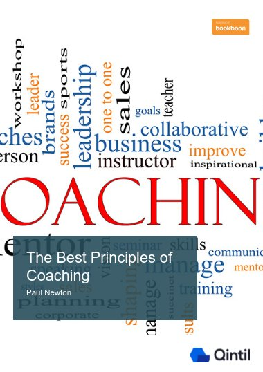 The Best Principles of Coaching