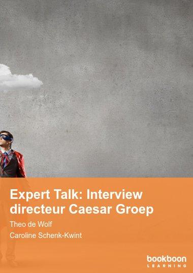 Expert Talk: Interview directeur Caesar Groep