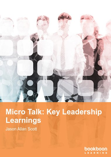 Micro Talk: Key Leadership Learnings