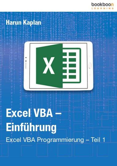 Excel VBA – Einführung