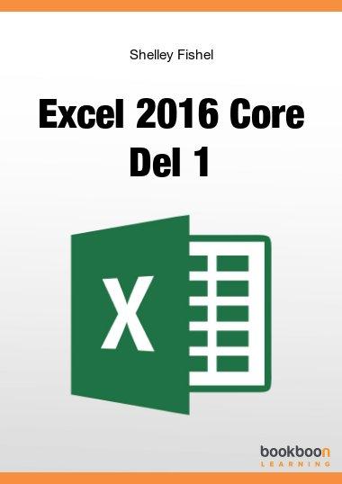 Excel 2016 Core Del 1
