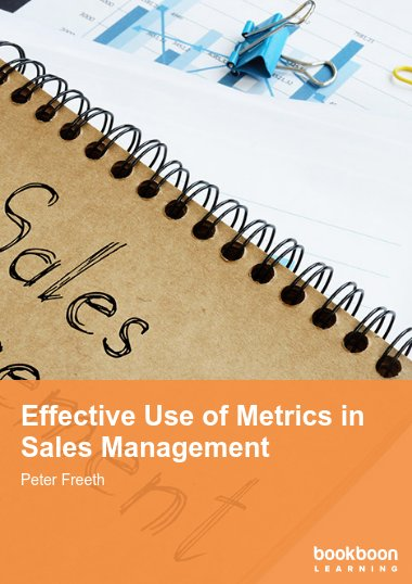 Effective Use of Metrics in Sales Management