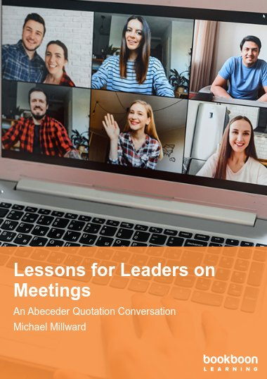 Lessons for Leaders on Meetings