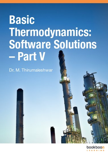 Basic Thermodynamics: Software Solutions – Part V