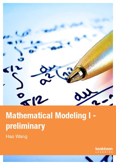Mathematical Modeling I - preliminary