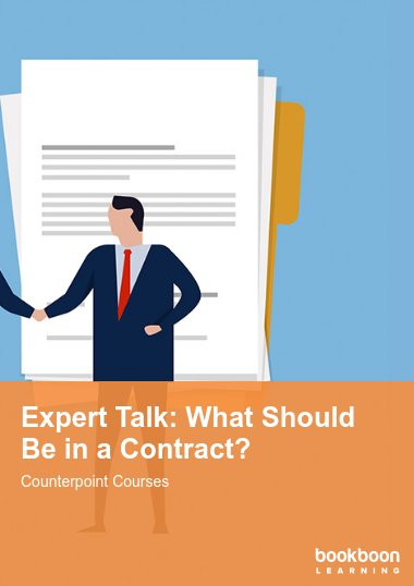 Expert Talk: What Should Be in a Contract?