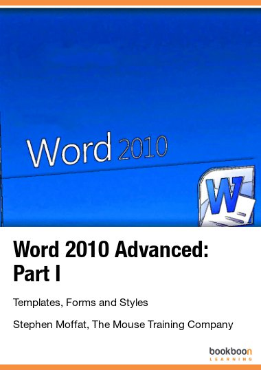 MS Word books | Help for using Word 2013, 2010 & 2007