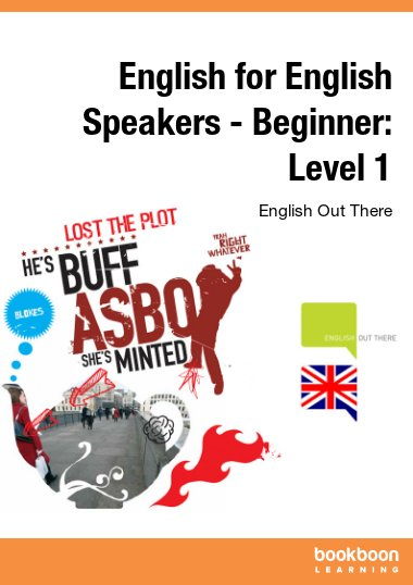 English for English Speakers - Beginner: Level 1