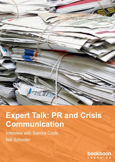Expert Talk: PR and Crisis Communication