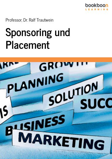 Sponsoring und Placement