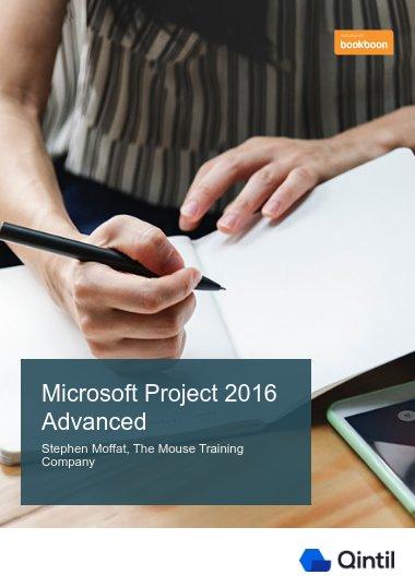 Microsoft Project 2016 Advanced