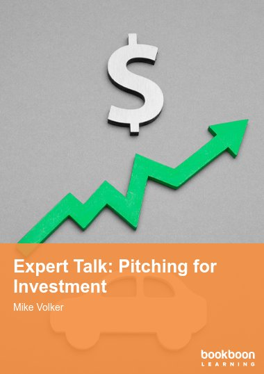 Expert Talk: Pitching for Investment