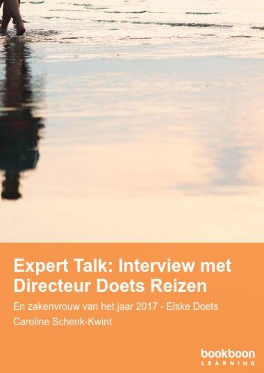 Expert Talk: Interview met Directeur Doets Reizen