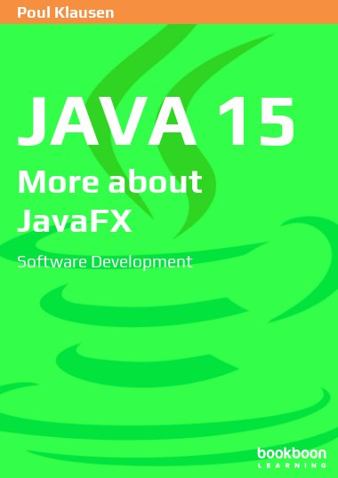 Java 15: More about JavaFX