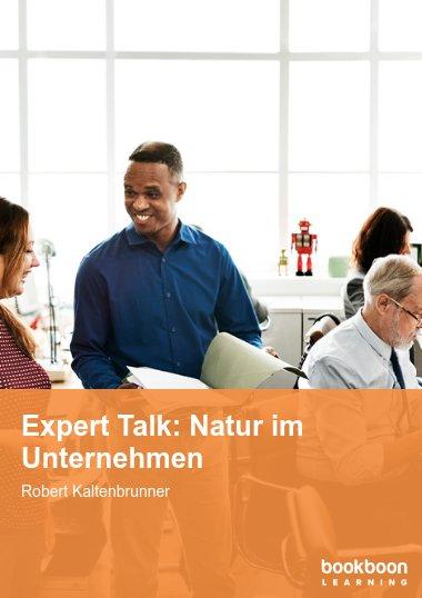 Expert Talk: Natur im Unternehmen