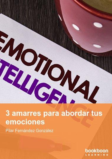 3 amarres para abordar tus emociones