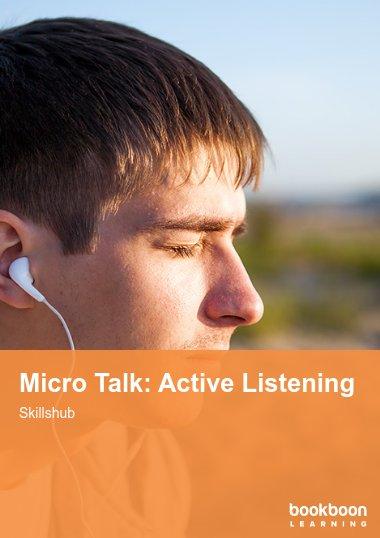 Micro Talk: Active Listening