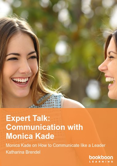 Expert Talk: Communication with Monica Kade
