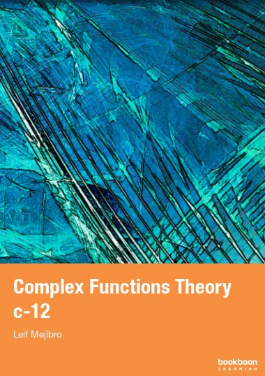 Complex Functions Theory c-12
