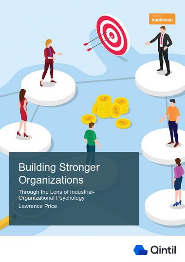 Building Stronger Organizations