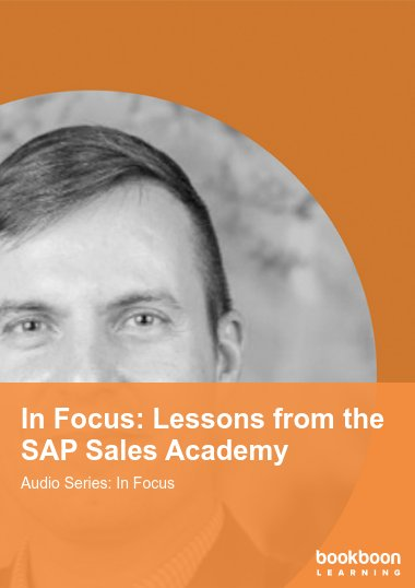 In Focus: Lessons from the SAP Sales Academy