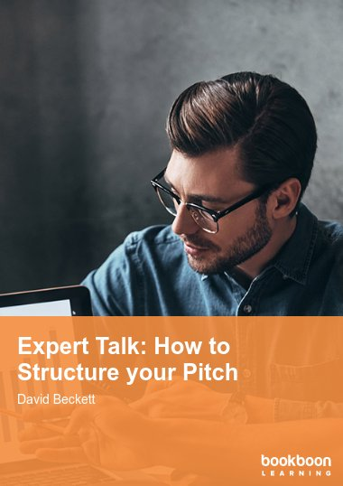 Expert Talk: How to Structure your Pitch