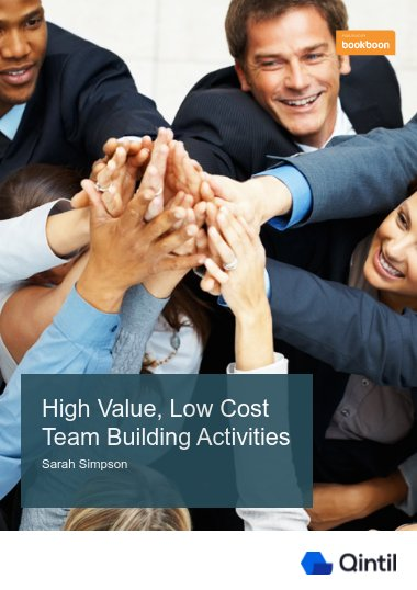 High Value, Low Cost Team Building Activities