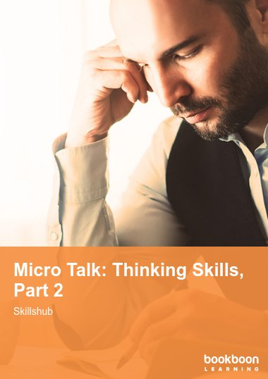 Micro Talk: Thinking Skills, Part 2