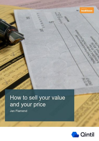How to sell your value and your price