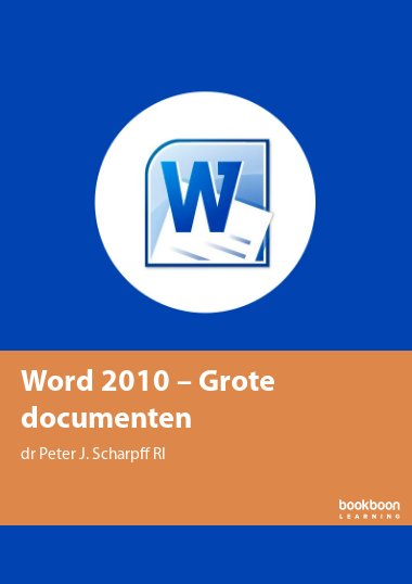 Word 2010 – Grote documenten