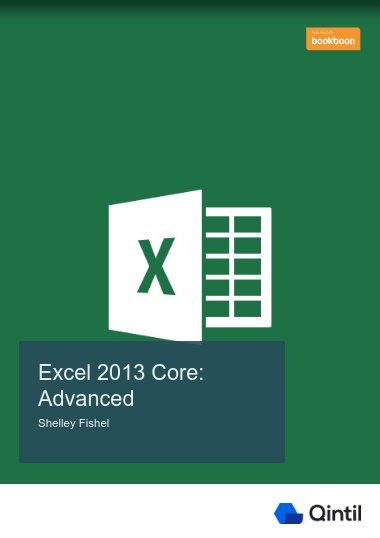 Excel 2013 Core: Advanced