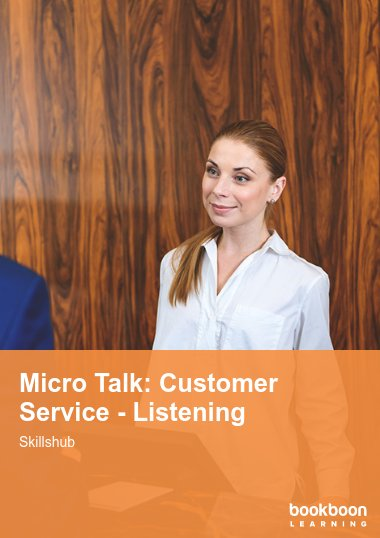 Micro Talk: Customer Service - Listening