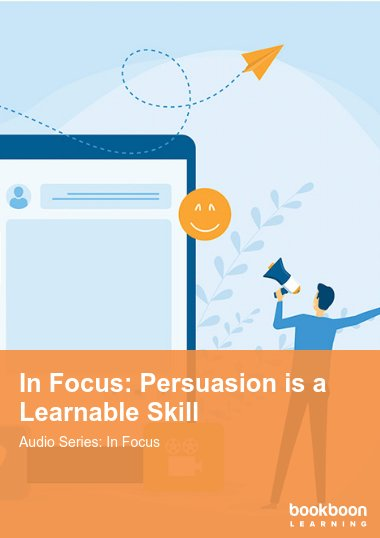 In Focus: Persuasion is a Learnable Skill