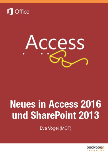 Neues in Access 2016 und SharePoint 2013