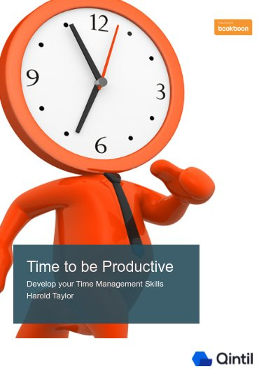 Time to be productive