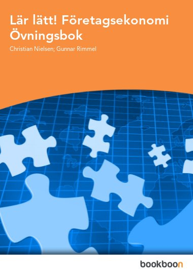 Lär lätt! Företagsekonomi Övningsbok