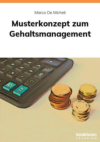 Musterkonzept zum Gehaltsmanagement