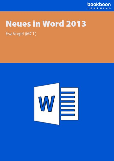 Neues in Word 2013