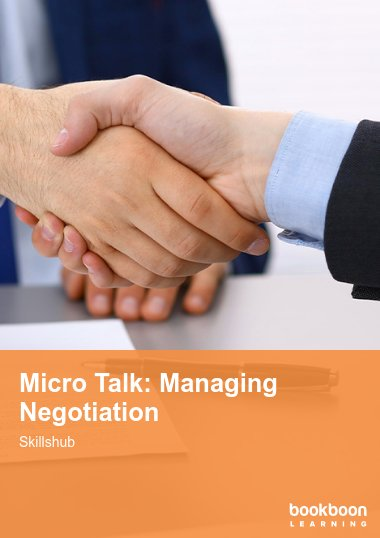 Micro Talk: Managing Negotiation