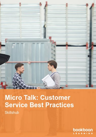 Micro Talk: Customer Service Best Practices