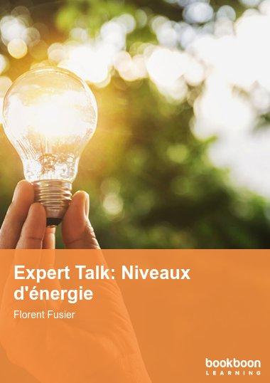 Expert Talk: Niveaux d'énergie