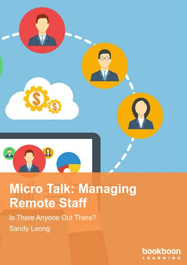 Micro Talk: Managing Remote Staff