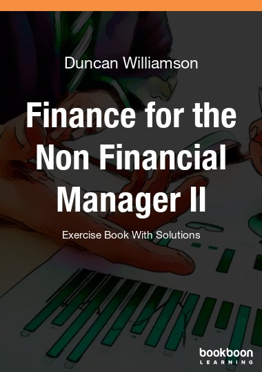 Finance for the Non Financial Manager II