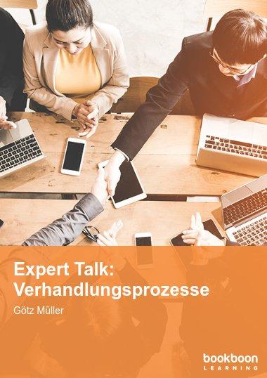 Expert Talk: Verhandlungsprozesse